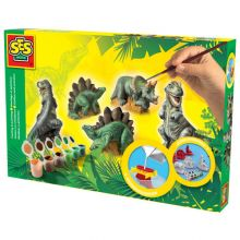 Støp & Mal - Dinosaurer