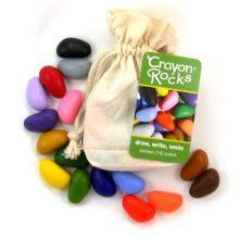Fargekritt - Crayon Rocks 16 stk i stoffpose