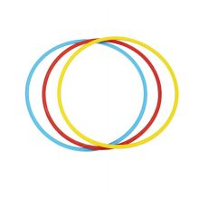 Balansebane tilbehør - Hula hoops 65cm