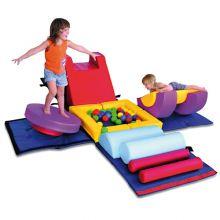 Skummøbel - Gymnastikk kube Baby/Småbarn