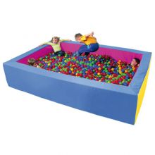 Ballbad - Rektangel 200x300 cm inkl. 4000 baller
