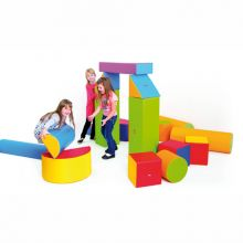 Skumklosser - Byggesett m. 19 blokker