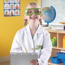 Kostyme - Laborantkittel og briller