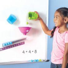Magnetsett til Whiteboard - Lær addisjon