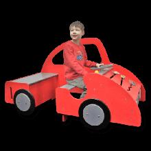 Lekebil med aktiviteter - Stor