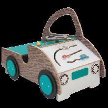 Lekebil med aktiviteter - Liten