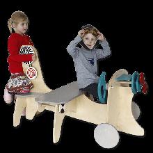 Lekehjørne - Flymaskin