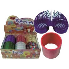 Plastikk Slinky - 10,5 cm.
