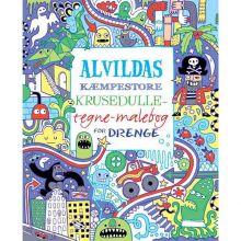 Alvildas malebok for gutter