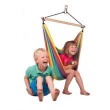 Rainbow Hengekøyestol til barn