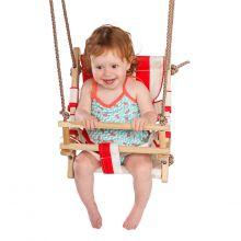 Huske - Baby med kanvassete