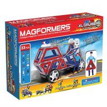 Magformers 33 stk - Utrykningskjøretøyer