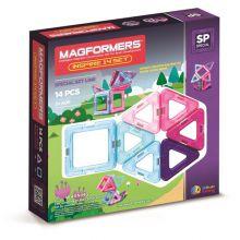 Magformers 14 stk - Inspire sett