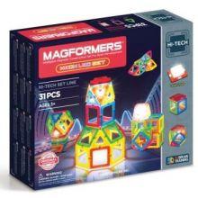Magformers Neon LED sæt - 31 stk