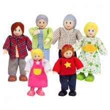 Dukkehus - Dukkefamilie -  Flere generasjoner