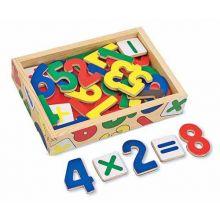 Tall i tre med magneter