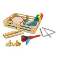 Musikk-kasse med 7 instrumenter