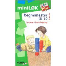 mini-LØK - Regnemester 1, lær til 10