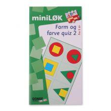 mini-LØK - Form og farge quiz 2