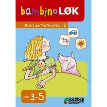 Bambino-lær - Konsentrasjonsspill 2