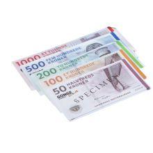 Lekepenger - Danske sedler