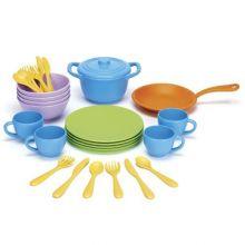 Lekekjøkken tilbehør - Kjøkkenutstyr, 26 deler