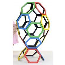 MAG Polydron | Sekskanter | 20 deler