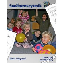 Småbarnsrytmikk bok + CD