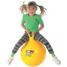 Hoppeball 45cm gul