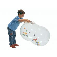 Gymnastikkball Rulle 55cm transparant