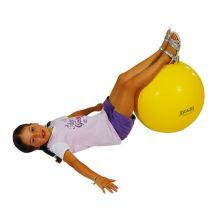 Gymnastikkball 45cm gul