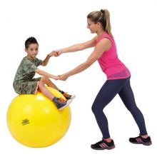 Gymnastikkball 75 cm gul
