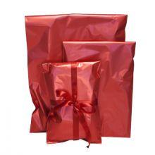 Gavepose 35x47cm - Rød cellofan