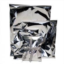 Gavepose 25x38 cm - Sølv cellofan