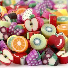 Leireperler - Frukt 200 stk