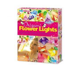 Lav din egen lyskæde m. blomster - origami