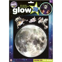Glow 3D - Månen, 4 deler