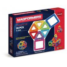 Magformers 26 stk - Tre- & firkanter