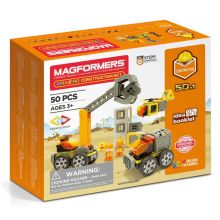 Magformers 50 stk - Byggeplass