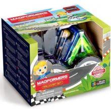 Magformers Rally bilsett - 8 deler + 1 figur
