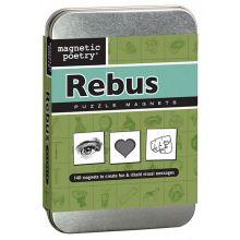 Magnetisk poesi - Rebus, 140 stk.
