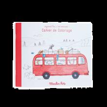 Male- og aktivitetsbok - Den Røde Buss