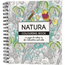 Malebok Mindfulness - Natur, 64 sider