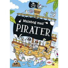 Malebok med pirater