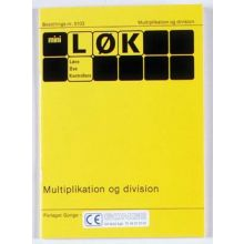 mini-LØK - Multiplikasjon og divisjon