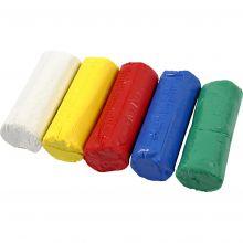 Modellervoks Soft Clay - Basisfarger, 400 gr.