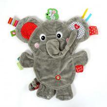 Sutteklut med taggies - Elefant