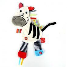 Sutteklut med taggies - Zebra