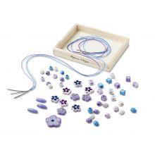 Perler i tre - Med glimmereffekt