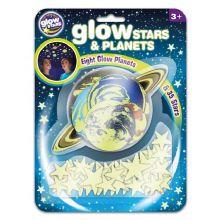 Planeter og stjerner - Selvlysende, 43 deler